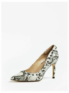 Guess Boldena Python Stud Court Shoe