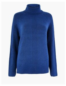 M&S Collection Cosy Roll Neck Jumper