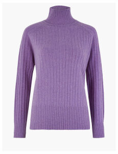 Autograph Pure Cashmere Turtle Neck Jumper