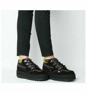 Kickers Kick Hi Creepy BLACK