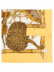 Hermès Pre-Owned 1994 Jardin Créole scarf - Brown