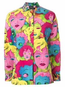 Versace Pre-Owned POP Art print shirt - Multicolour