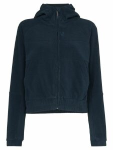LNDR Ember zipped fleece hoodie - Blue