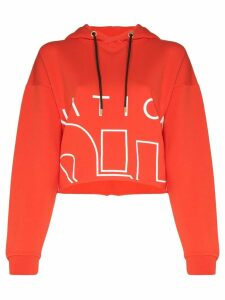 P.E Nation Restart logo hoodie - Red