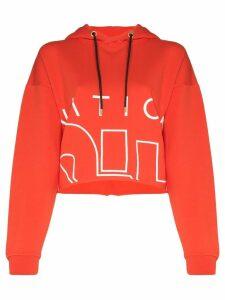 P.E Nation Restart logo hoodie - Red