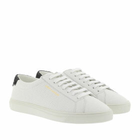 Saint Laurent Sneakers - Andy Sneaker Perforated Leather White - white - Sneakers for ladies