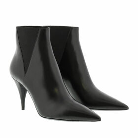 Saint Laurent Boots & Booties - Kiki Ankle Boots Leather Black - black - Boots & Booties for ladies