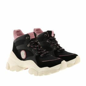 Coach Sneakers - Hiker Suede And Leather Sneaker Black - black - Sneakers for ladies