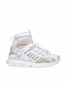 Dolce & Gabbana Sneakers Sorrento Trekking Color White / Ivory