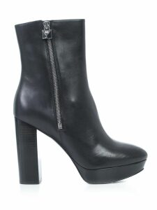 MICHAEL Michael Kors Frenchie Ankle Boots Leather