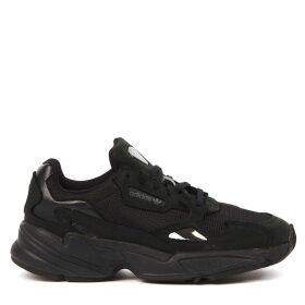Adidas Originals Falcon Black Nylon Sneakers