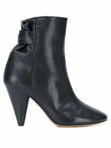 Isabel Marant curved ankle boots - Black