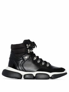 Moncler ankle boot sneakers - Black