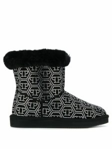 Philipp Plein Crystal Plein ankle boots - Black