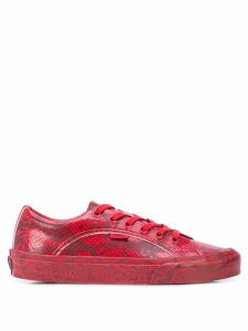 Opening Ceremony x Vans snake-print sneakers - Red