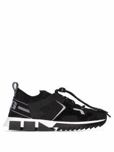 Dolce & Gabbana Sorrento trekking chunky sneakers - Black