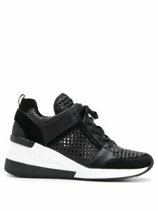 Michael Kors Georgie woven trainers - Black