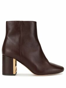 Tory Burch Gigi 70mm boots - Red