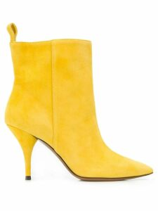 L'Autre Chose pointed toe ankle boots - Yellow