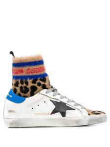 Golden Goose Superstar high-top sneakers - White