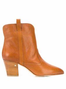 Laurence Dacade block heel boots - Leather color