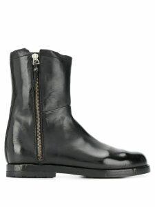 Alberto Fasciani side zip ankle boots - Black