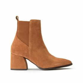 Joy Heeled Suede Boots