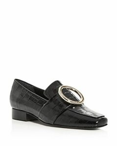Dorateymur Women's Harput Square Apron-Toe Loafers
