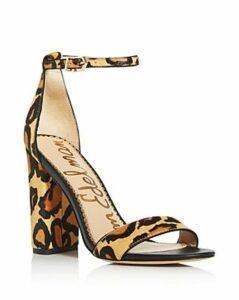Sam Edelman Women's Yaro Animal-Print High-Heel Sandals