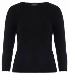 Roberto Collina Sweater With Black Crew-neck