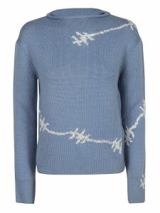 Ermanno Scervino Wire Knit Jumper