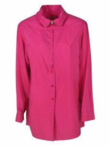 Lemaire Collar Semi-zipped Shirt
