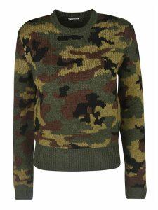 Miu Miu Camo Print Sweater