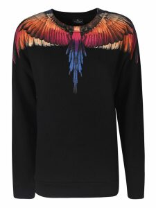 Marcelo Burlon Wings Print Long-sleeved T-shirt