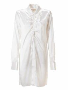 Bottega Veneta Lacquered Satin Shirt