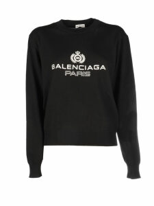 Balenciaga Long Sleeve Knit Top