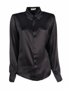Balenciaga Fitted Satin Shirt