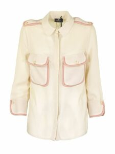 Elisabetta Franchi Celyn B. Shirt White And Pink