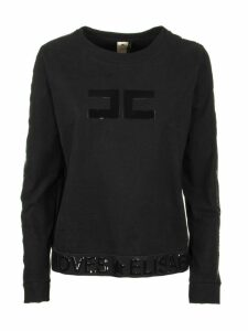 Elisabetta Franchi Celyn B. Sweaters Black Logo