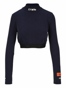 Heron Preston Ctnmb Turtleneck Crop Top