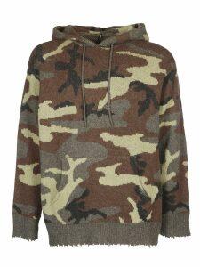 R13 Camouflage Hoodie