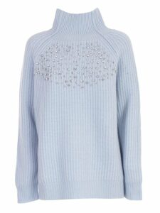 Be Blumarine Sweater L/s High Neck W/ribs