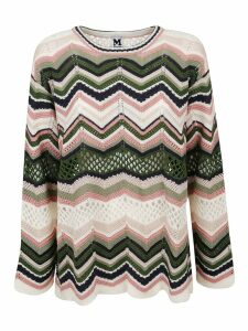 M Missoni Multicolor Cotton Sweater