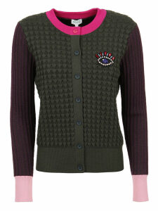 Kenzo Beaded Eye Crest Cardigan