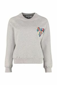 Maison Labiche Cotton Crew-neck Sweatshirt