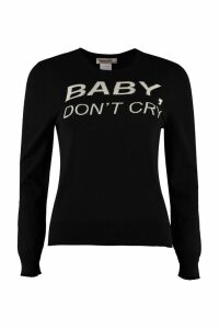 Nervure Baby Dont Cry Intarsia Pullover
