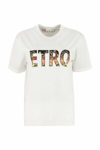 Etro Crew-neck Cotton T-shirt