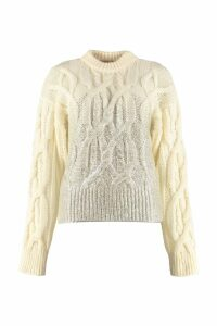 Pinko Etiope Cable Knit Pullover