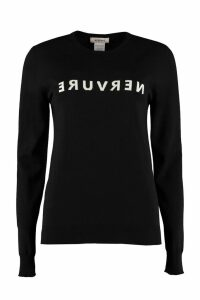 Nervure Crew-neck Wool Sweater