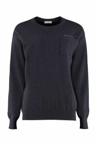 Brunello Cucinelli Crew-neck Cashmere Sweater